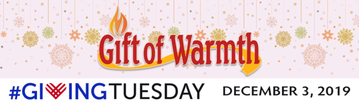 Give the Gift of Warmth on Giving Tuesday